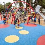 Детская резиновая площадка