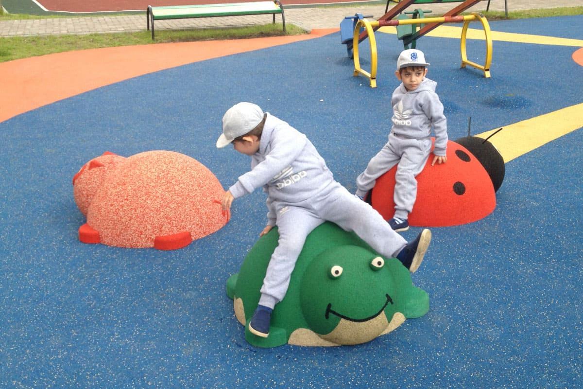 3D элементы детской площадки.
