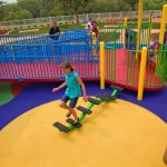 Резиновое покрытие для детских игровых площадок
