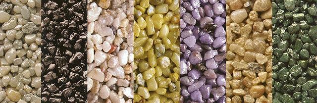 Красивый и прочный напольный камень.