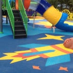 Покрытие детских и спортивных площадок