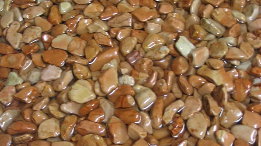 Красивые полы из камня.