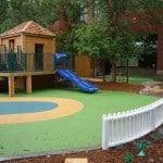 Безопасное покрытие детских игровых площадок