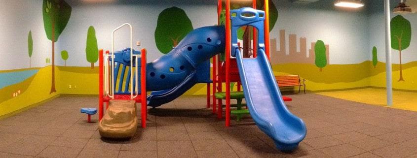 Безопасная горка в детский сад.