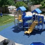 Современная детская игровая площадка