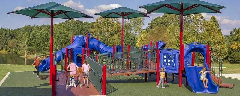 Уличное покрытие для детских площадок.