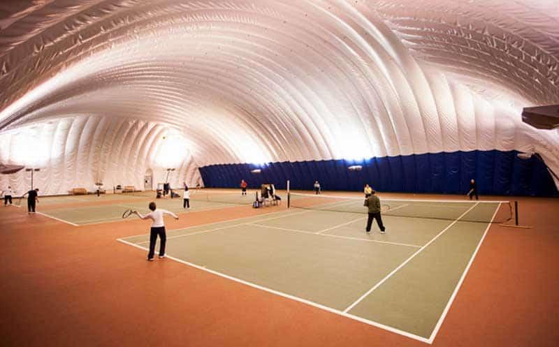 Резиновое покрытие для спортивного зала.