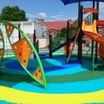 Искусственное покрытие для детской площадки