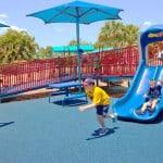 Покрытие для уличных детских площадок
