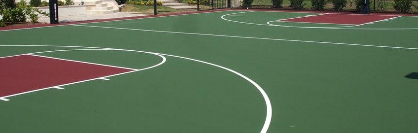 Покрытие для баскетбольных площадок.