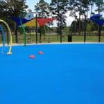Покрытие площадки в детский сад.