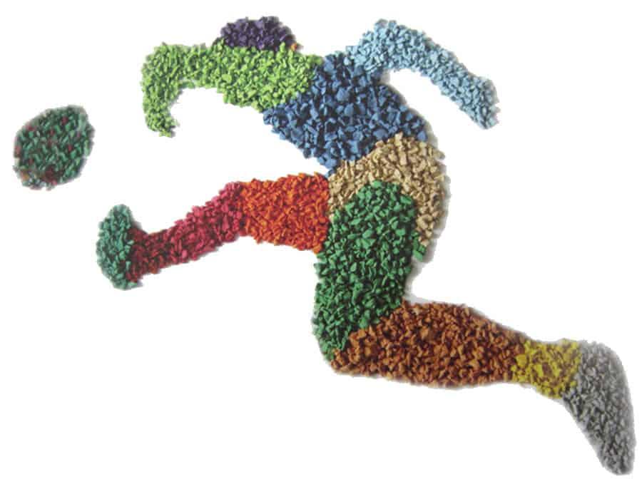 Спортивные площадки из резиновой крошки