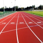 Резиновая крошка для спортивных площадок