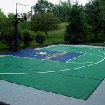 Плитка для спортивных площадок.
