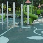 Материал для покрытия детских площадок