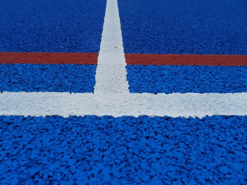 Уличные покрытия для спортивных площадок.