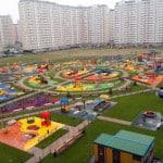 Ударопоглощающие покрытия детских игровых площадок