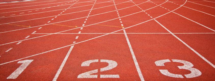 Устройство резиновых покрытий спортивных площадок.