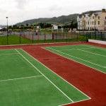 Напольное покрытие спортивных площадок