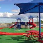 Резиновое покрытие детских игровых площадок